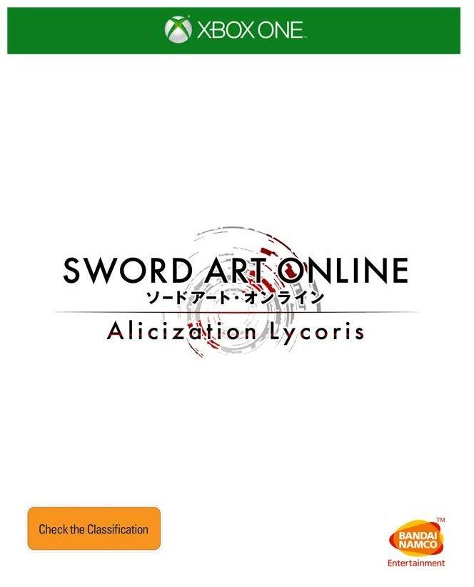 Bandai Sword Art Online Alicization Lycoris Xbox One Game