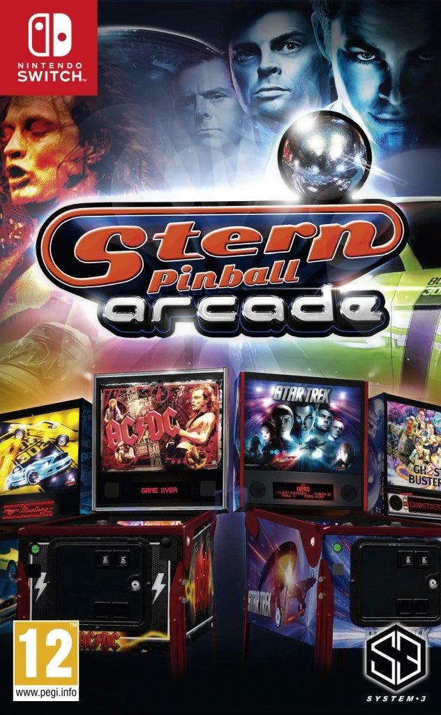 System 3 Stern Pinball Arcade Nintendo Switch Game