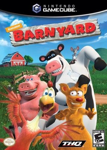 THQ Barnyard GameCube Game