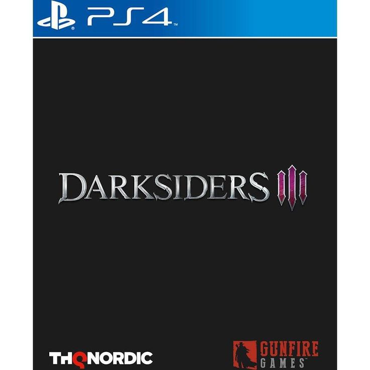 THQ Darksiders 3 PS4 Playstation 4 Game