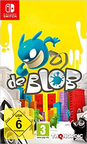 THQ De Blob Nintendo Switch Game