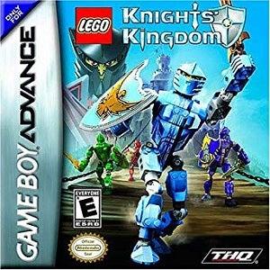 THQ Lego Knights Kingdom GameBoy Game