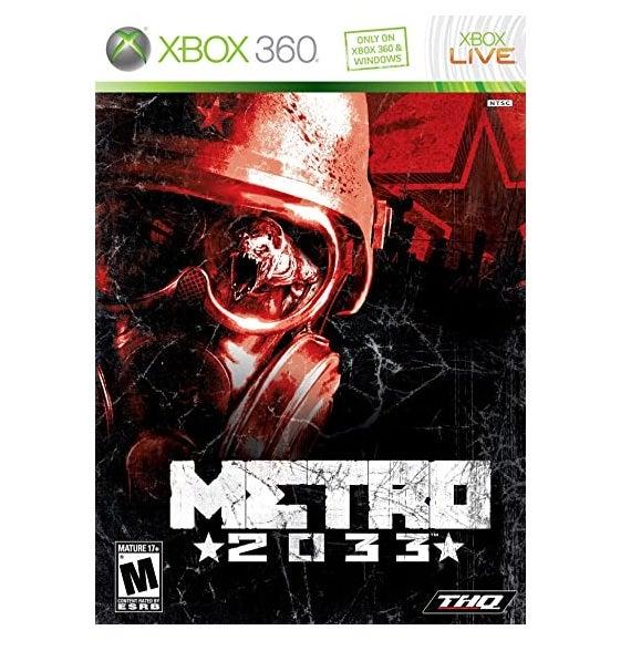 THQ Metro 2033 Refurbished Xbox 360 Game