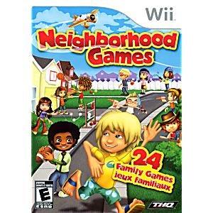 THQ Neighborhood Games Nintendo Wii Game
