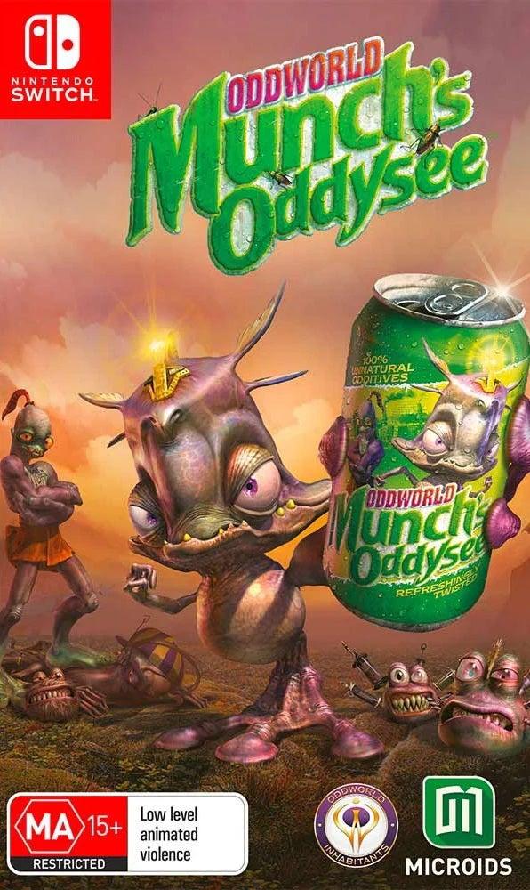 THQ Oddworld Munchs Oddysee Nintendo Switch Game