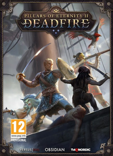 THQ Pillars of Eternity II Deadfire PC Game