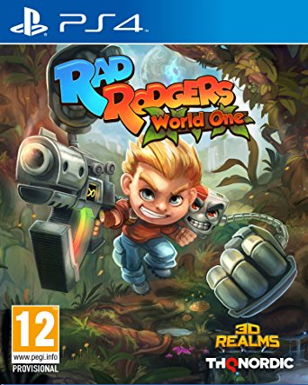 THQ Rad Rodgers World One PS4 Playstation 4 Game