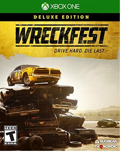 THQ Wreckfest Deluxe Edition Xbox One Game