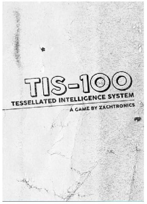 Zachtronics TIS 100 PC Game