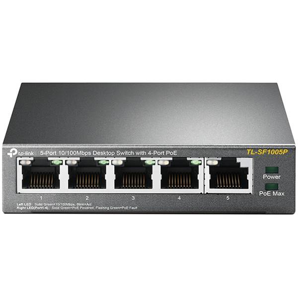 TP-Link TLSF1005P Networking Switch