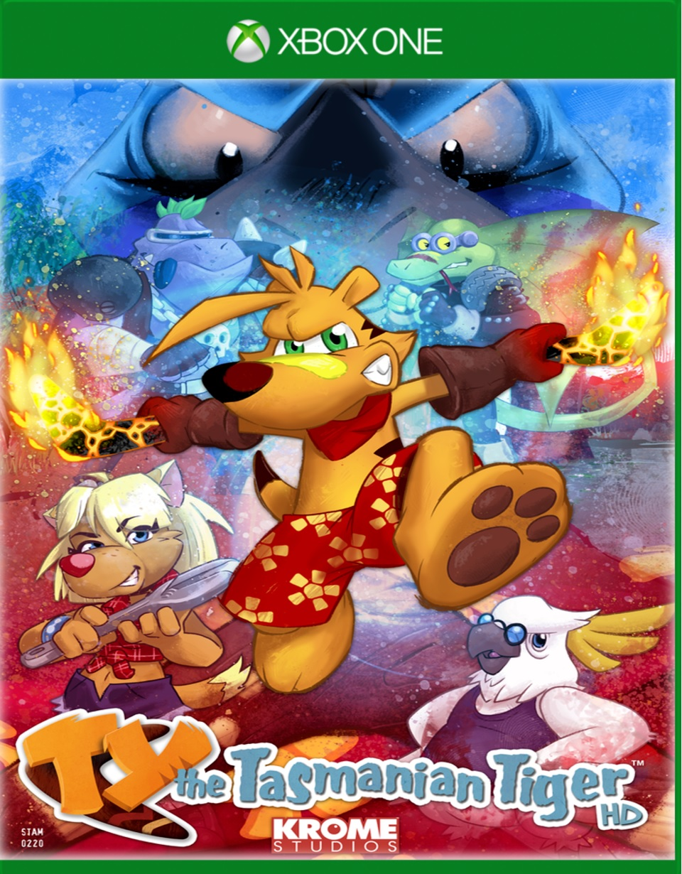 Electronic Arts TY The Tasmanian Tiger HD Xbox One Game