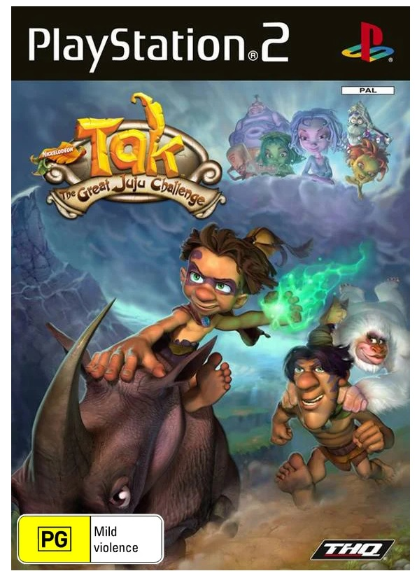 THQ Tak The Great Juju Challenge Refurbished PS2 Playstation 2 Game