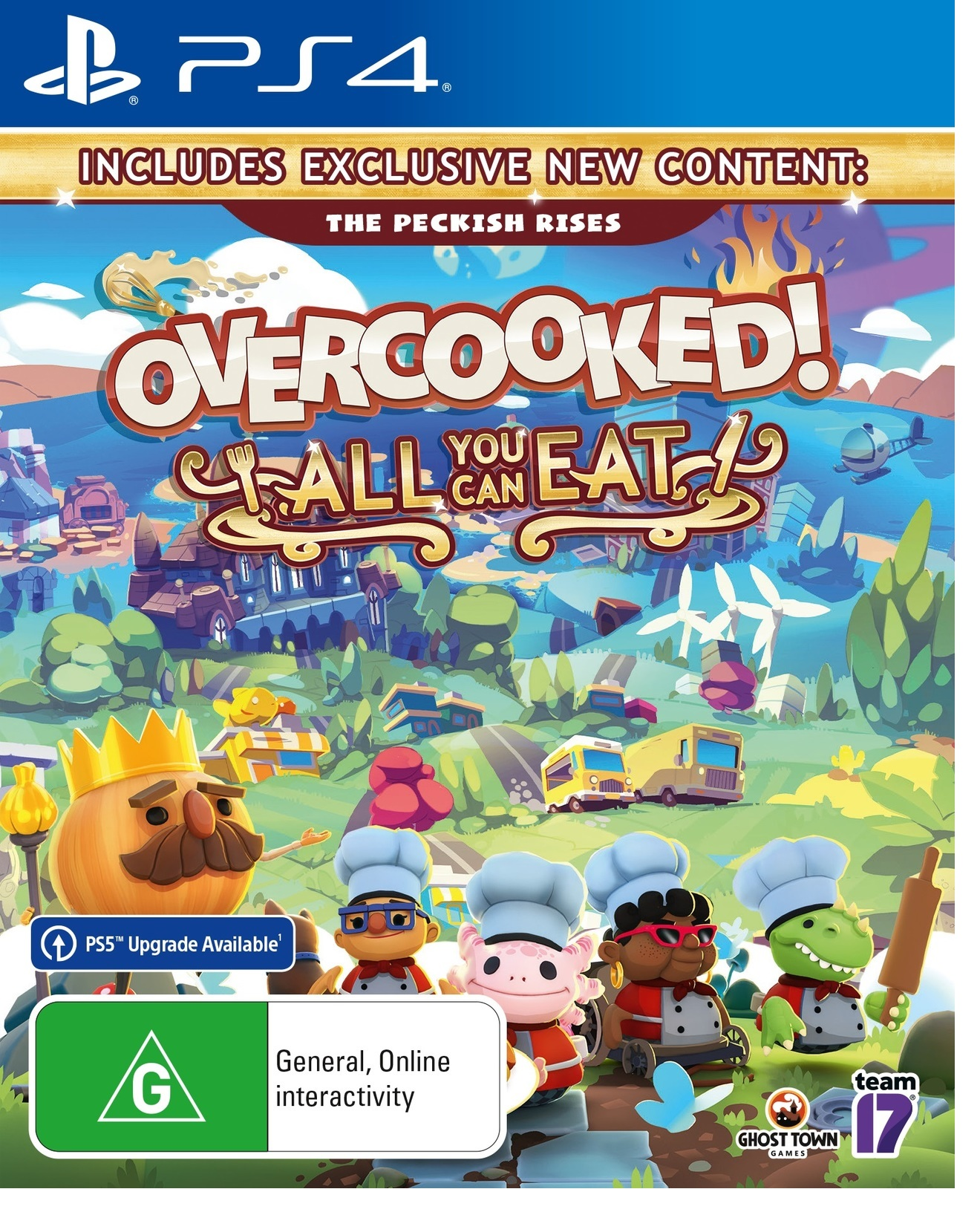 Team17 Software Overcooked All You Can Eat PS4 Playstation 4 Game