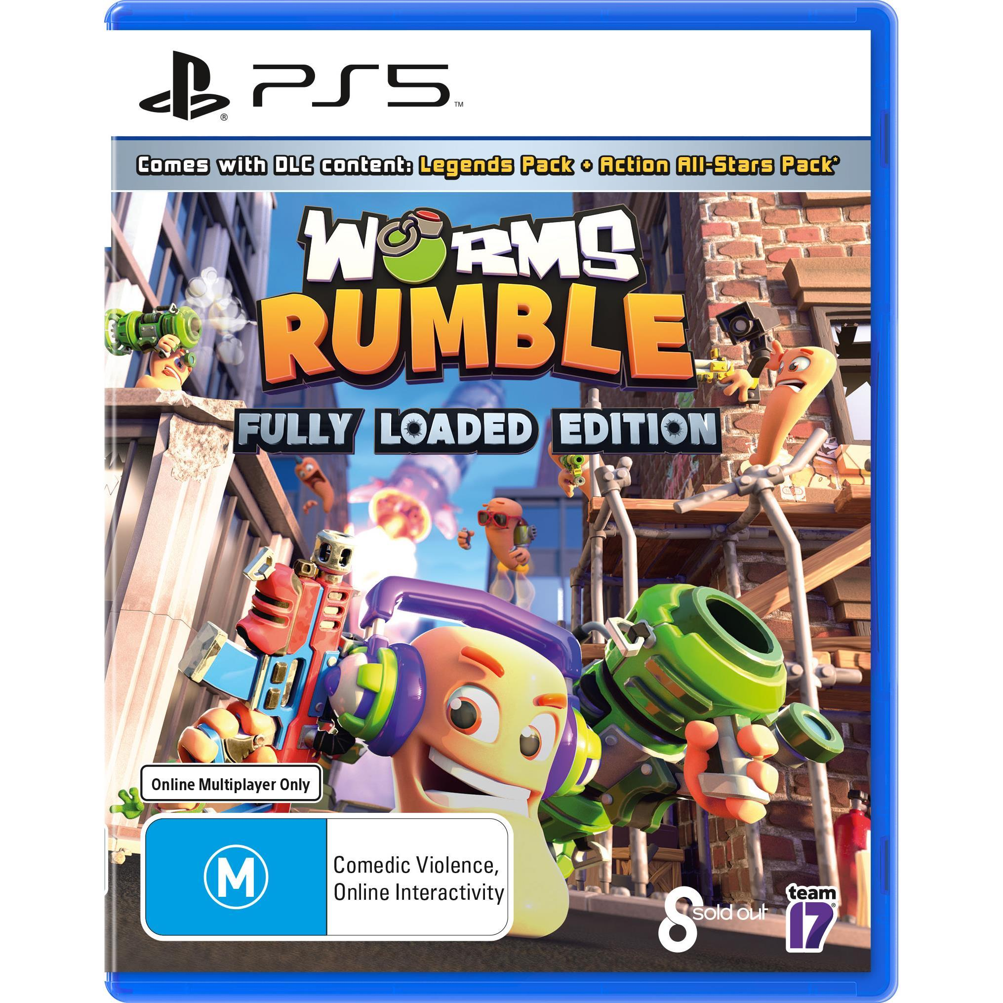 Team17 Software Worms Rumble Fully Loaded Edition PS5 PlayStation 5 Game