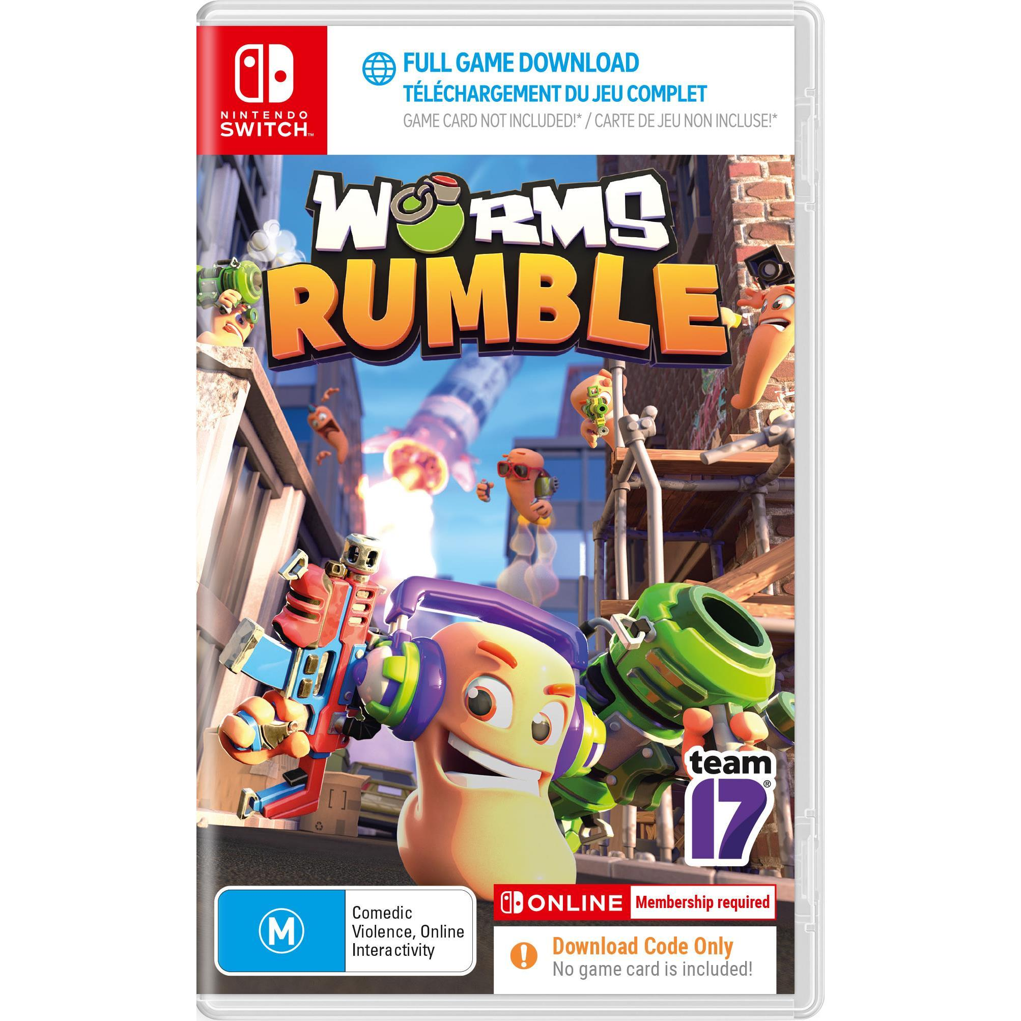 Team17 Software Worms Rumble Nintendo Switch Game