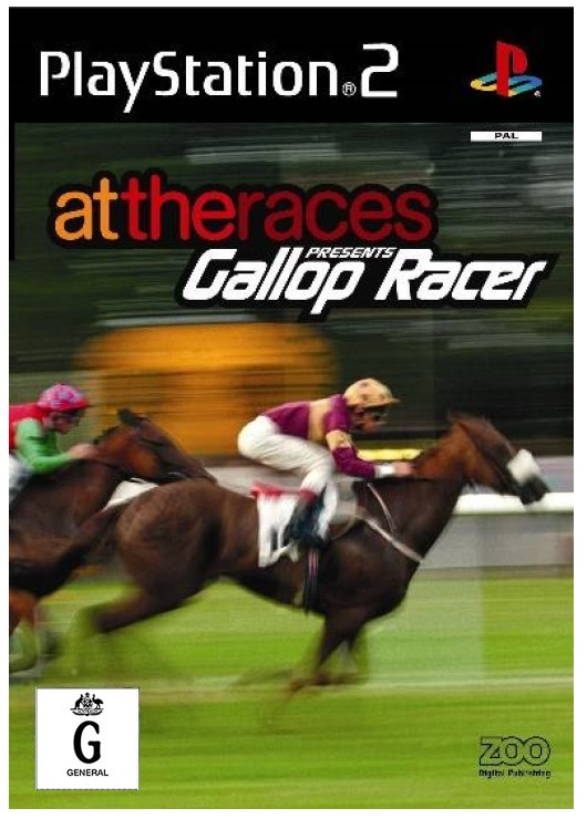 Tecmo At the Races Presents Gallop PS2 Playstation 2 Game