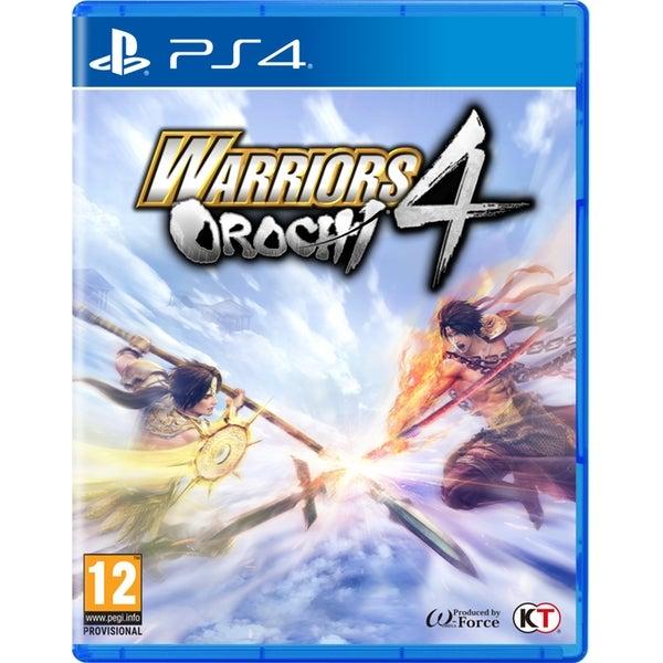 Tecmo Koei Warriors Orochi 4 PS4 Playstation 4 Game