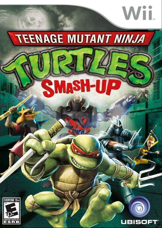 Ubisoft Teenage Mutant Ninja Turtles Smash Up Refurbished Nintendo Wii Game