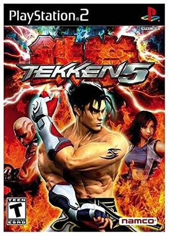 Namco Tekken 5 Refurbished PS2 Playstation 2 Game
