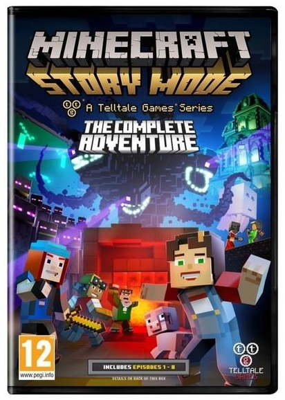 Telltale Games Minecraft Story Mode Complete Adventure PC Game