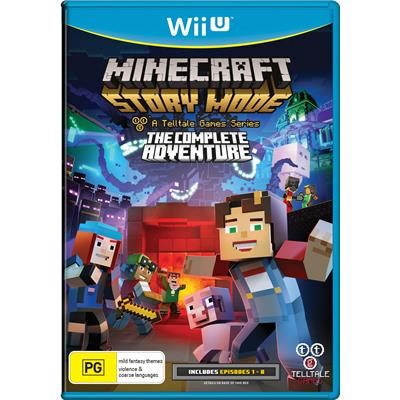 Telltale Games Minecraft Story Mode The Complete Adventure Nintendo Wii U Game