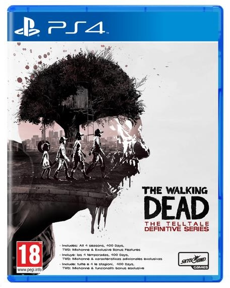 Telltale games The Walking Dead The Telltale Definitive Series PS4 Playstation 4 Game
