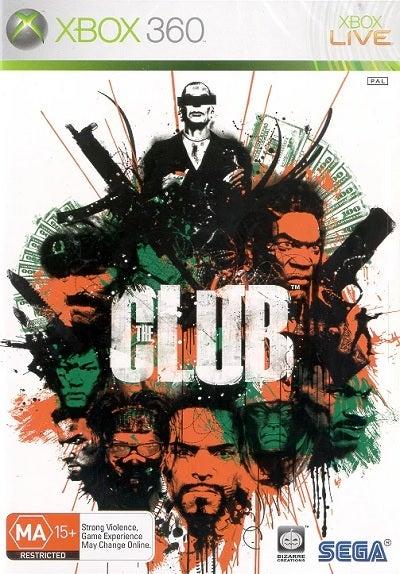 Sega The Club Refurbished Xbox 360 Game