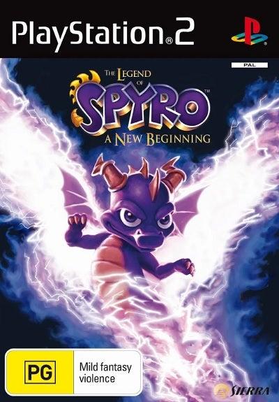 Vivendi The Legend Of Spyro A New Beginning Refurbished PS2 Playstation 2 Game