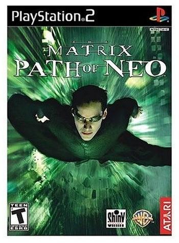 Atari The Matrix Path Of Neo Refurbished PS2 Playstation 2 Game