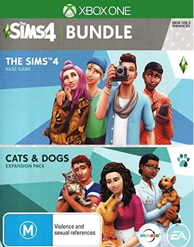 Electronic Arts The Sims 4 and Cats and Dogs Bundle Xbox One Game