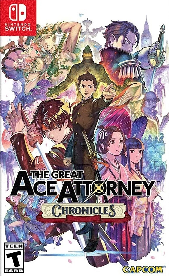 Capcom The Great Ace Attorney Chronicles Nintendo Switch Game