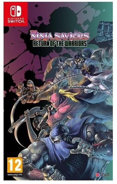 Taito The Ninja Saviors Return Of The Warriors Nintendo Switch Game