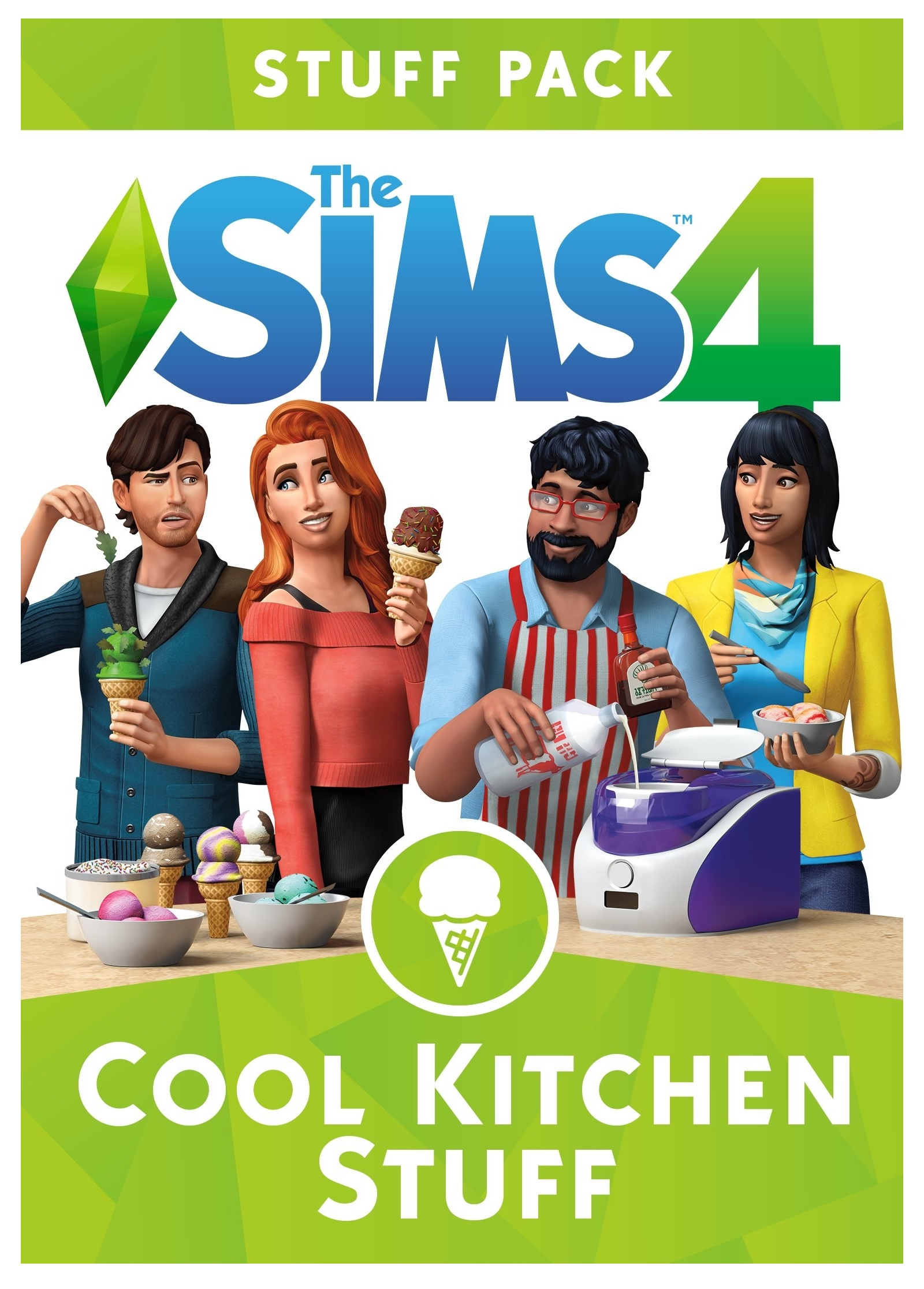 Electronic Arts The Sims 4 Cool Kitchen Stuff Pack PC Game