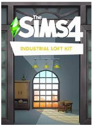 Electronic Arts The Sims 4 Industrial Loft Kit PC Game