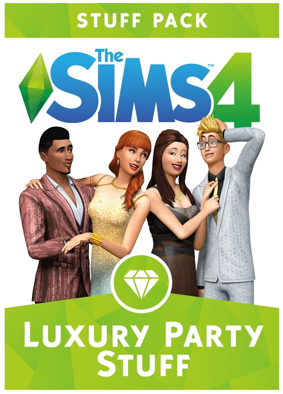 Electronic Arts The Sims 4 Luxury Party Stuff Pack PC Game