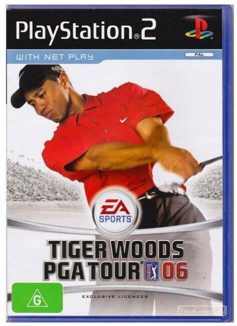 Electronic Arts Tiger Woods PGA Tour 06 Refurbished PS2 Playstation 2 Game