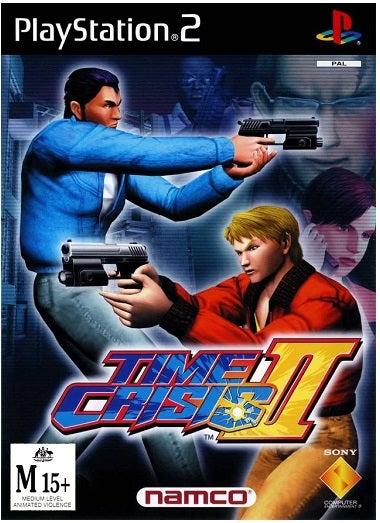 Namco Time Crisis 2 PS2 Playstation 2 Game