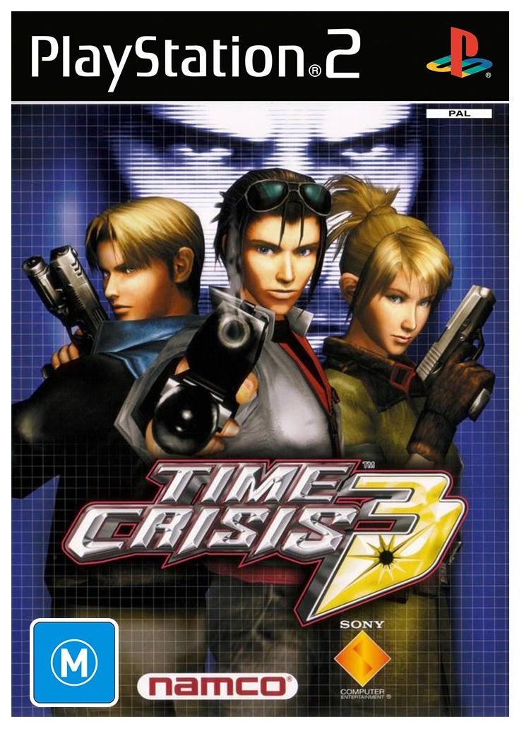 Namco Time Crisis 3 Refurbished PS2 Playstation 2 Game