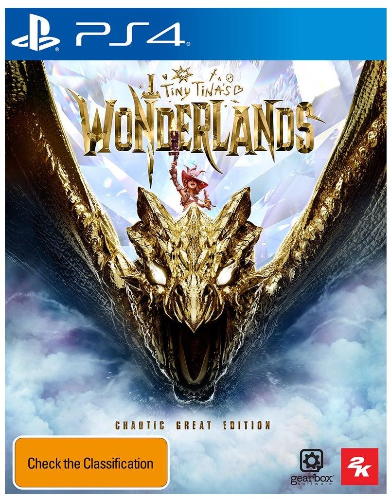 2k Games Tiny Tinas Wonderlands Chaotic Great Edition PS4 Playstation 4 Game