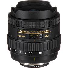 Tokina 10-17mm F3.5-4.5 AT-X 107 DX AF Fisheye Lens
