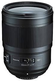 Tokina Opera 50mm F1.4 FF Lens