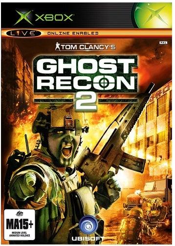 Ubisoft Tom Clancys Ghost Recon 2 Xbox Game