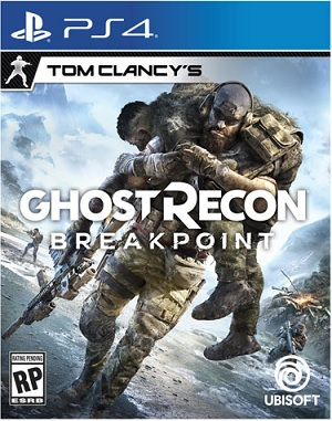 Ubisoft Tom Clancys Ghost Recon Breakpoint PS4 Playstation 4 Game
