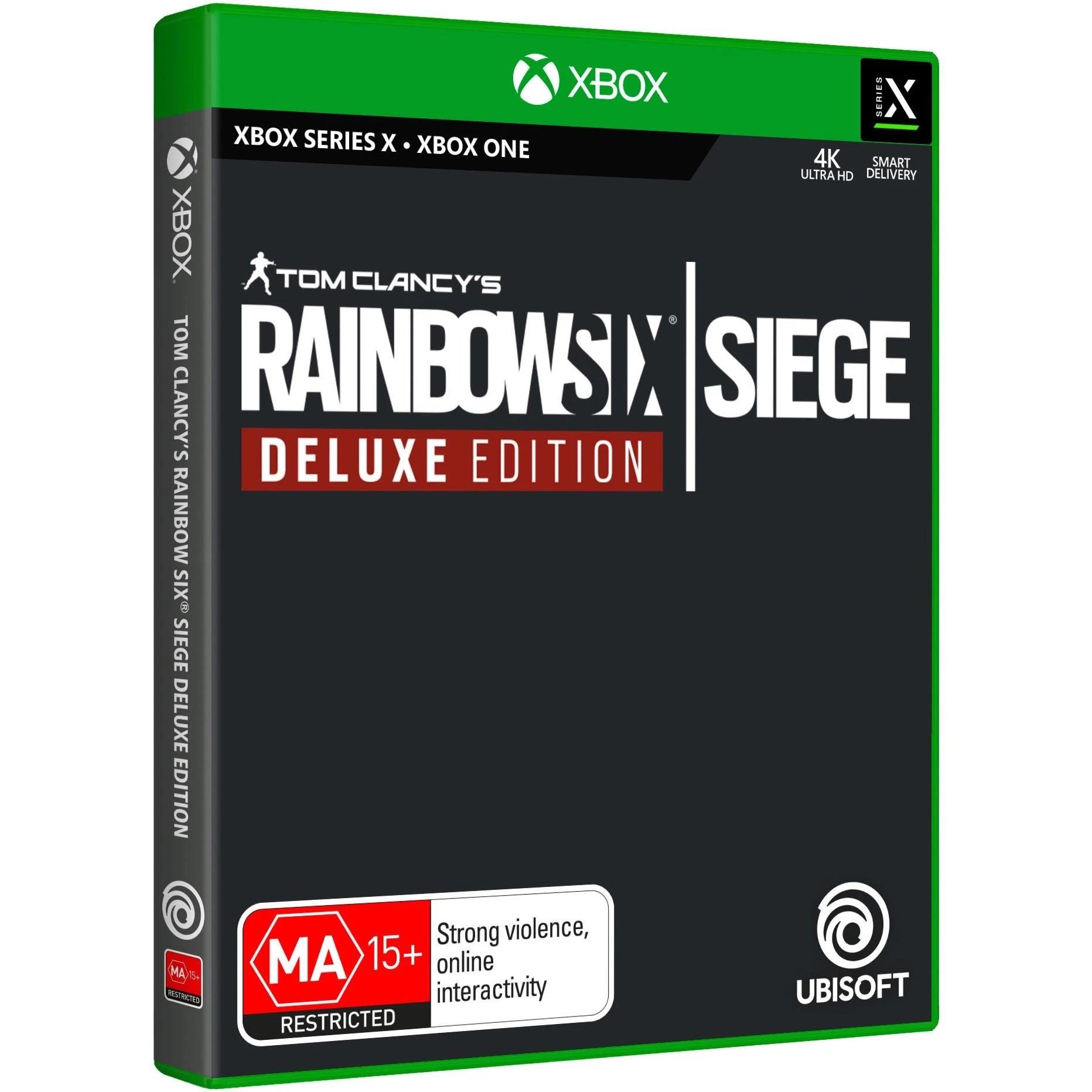 Ubisoft Tom Clancys Rainbow Six Siege Deluxe Edition Xbox Series X Game