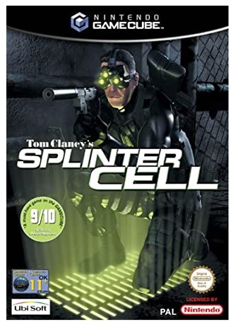 Ubisoft Tom Clancys Splinter Cell GameCube Game