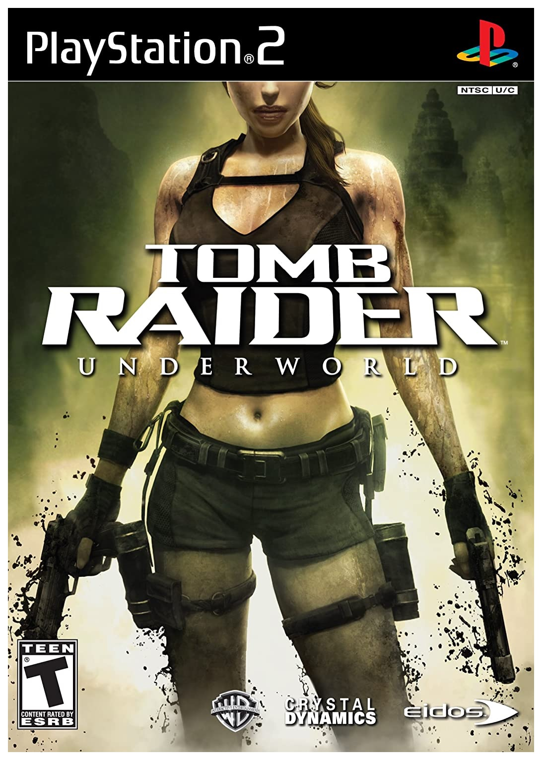 Eidos Interactive Tomb Raider Underworld Refurbished PS2 Playstation 2 Game