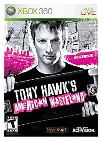 Activision Tony Hawks American Wasteland Xbox 360 Game