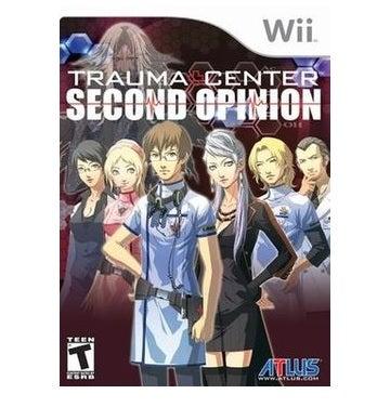 Atlus Trauma Center Second Opinion Nintendo Wii Game