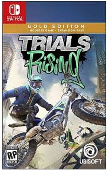 Ubisoft Trials Rising Gold Edition Nintendo Switch Game