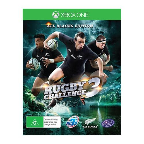 Tru Blu Entertainment All Blacks Rugby Challenge 3  Xbox One Game